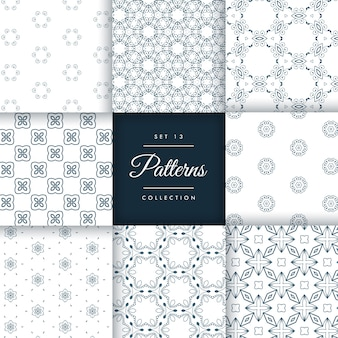 Pattern collection set 13
