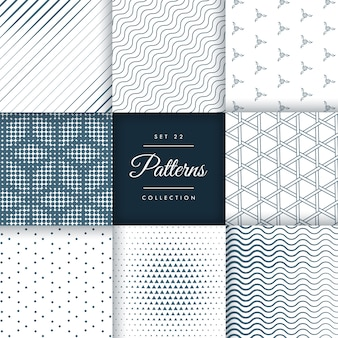 Pattern collection set 22