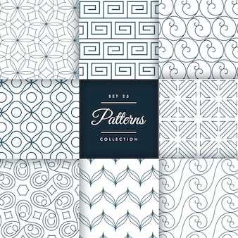 Pattern collection set 25