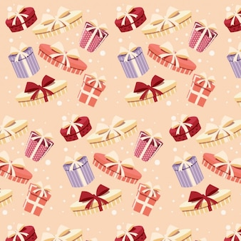 Pattern design with gifts