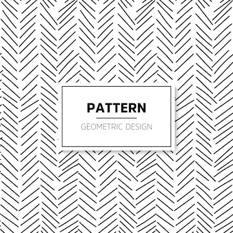 Pattern of hand drawn lines