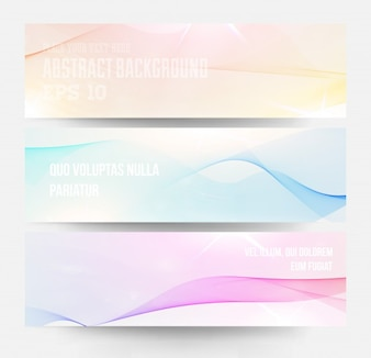 Pattern set abstract background line