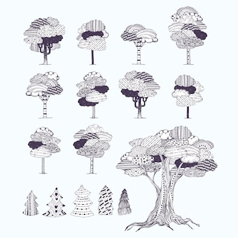 Pattern tree collection