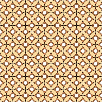 Pattern with circular and square shapes