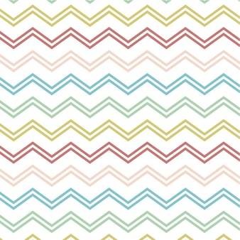 Pattern with colorful zigzag lines