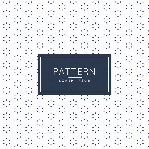 Pattern with hexagonal shapes and dots