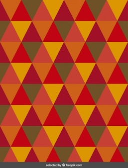 Pattern with isosceles triangle