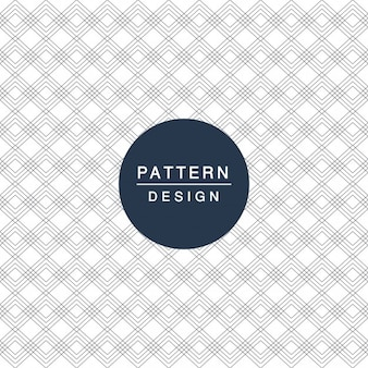 Pattern with lines and geometric shapes