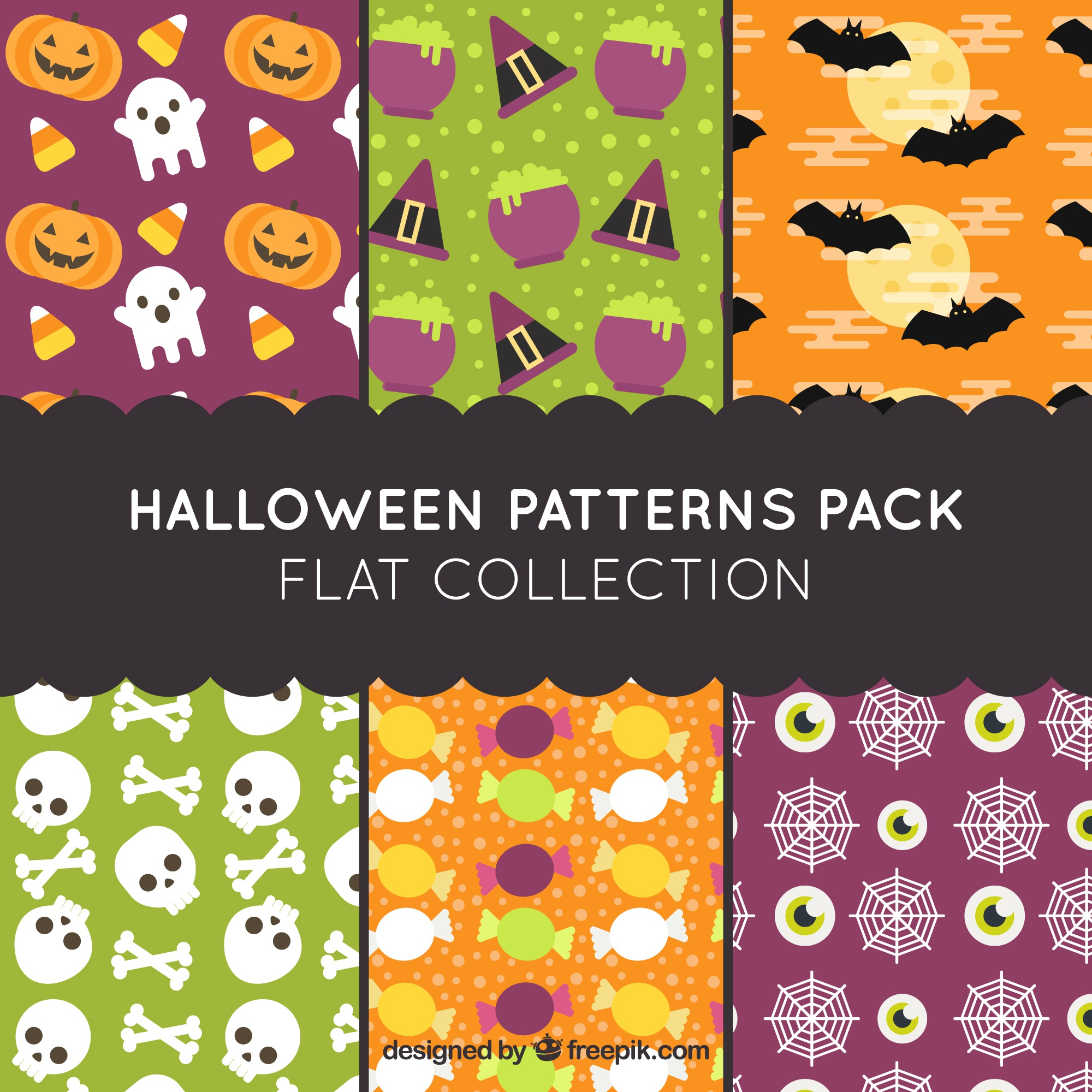 Patterns for happy halloween