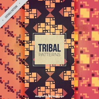 Patterns of tribal designs