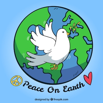 Peace on earth background