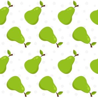 梨のパターンの背景