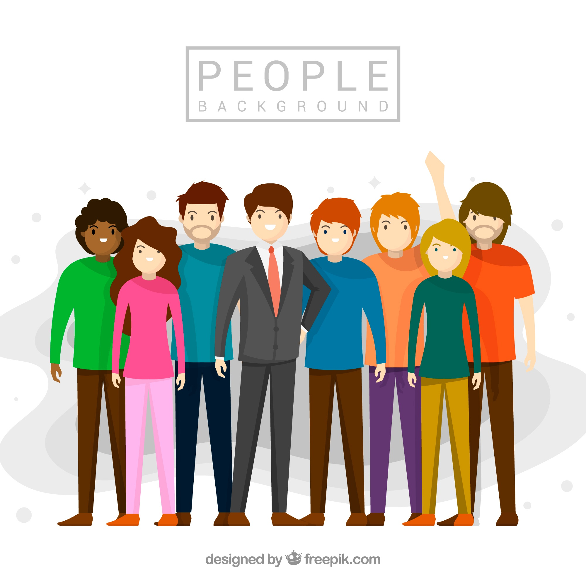 People group background