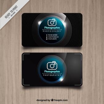 Photo studio bright card
