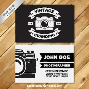 Photographer Visiting Card