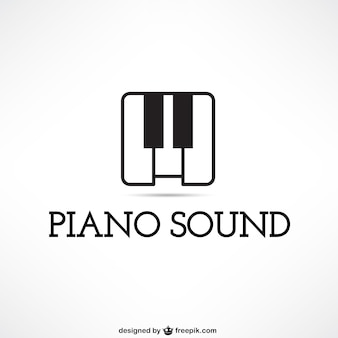 Piano sound logo