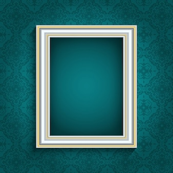 Picture frame in a vintage style