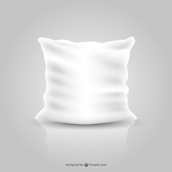 Pillow free vector design