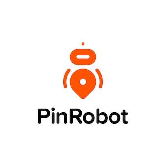 ピンロボットロゴ