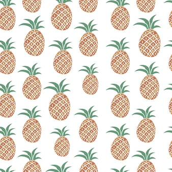 Pineapples pattern design