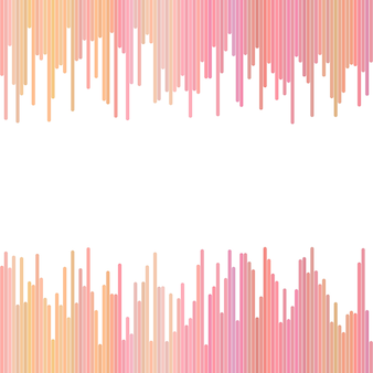 Pink abstract background from vertical lines - vector graphic design