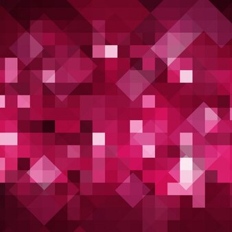 Pink abstract background in pixelated style