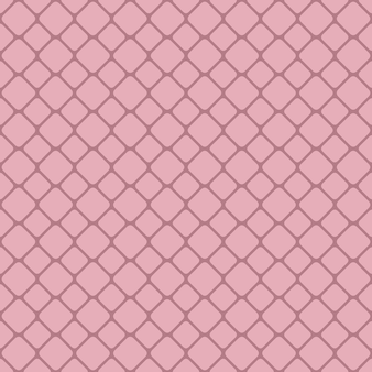 Pink abstract seamless rounded square grid pattern background design - vector graphic design