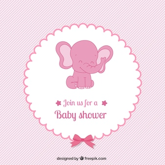 pink baby shower card in lovely style 3 513 61 1 years ago
