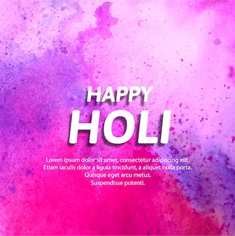 Pink background for holi festival