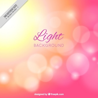 Pink bokeh background with lights