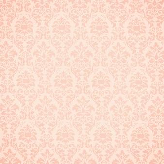Pink ornamental background