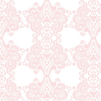 Pink ornamental pattern background
