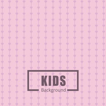Pink pattern background for kids