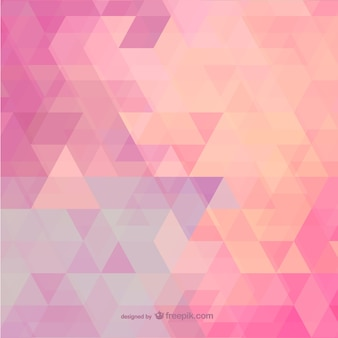 Pink polygonal background