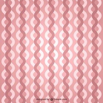 Pink retro waves background