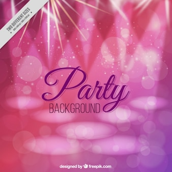 Pink shiny party background