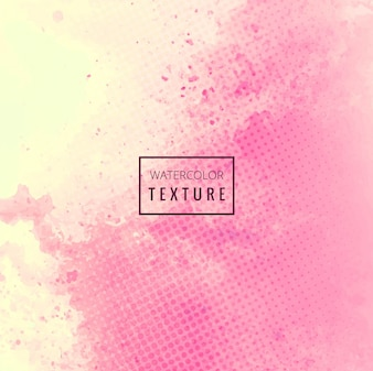 Pink watercolor grunge texture with dots