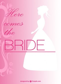 自由な結婚式の招待状のデザイン