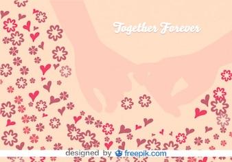 Pinky Love Swear Vector Illustration