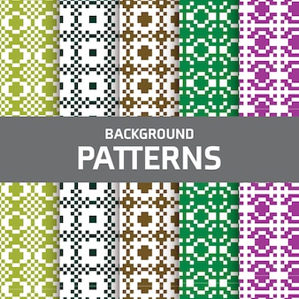 Pixel patterns collection
