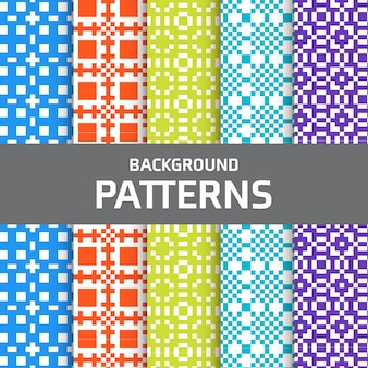 Pixel patterns set