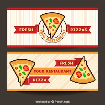 Pizzeria banners