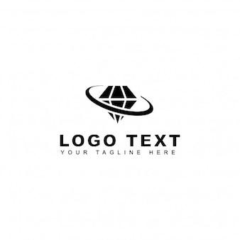 Planet diamond logo
