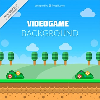 Platform background in flat style