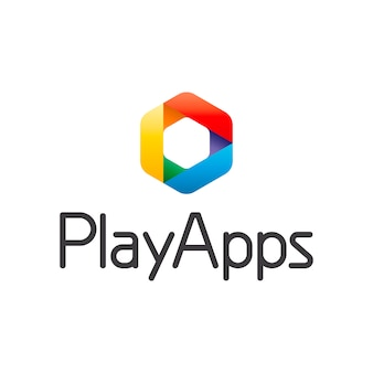 Play Apps抽象的なロゴ