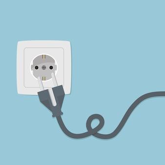 Plug design background
