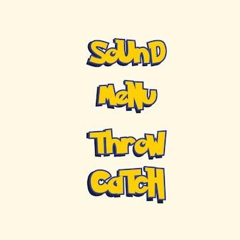 Pokemon style game text button set