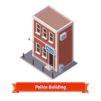 Police station building
