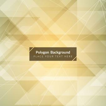 Polygonal background, beige