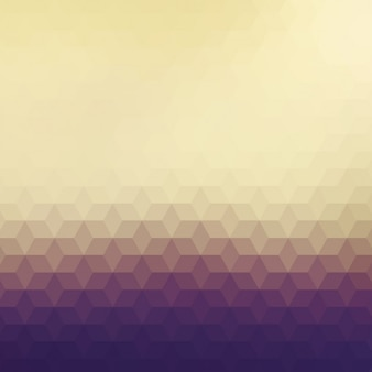 Polygonal background in different brown tones